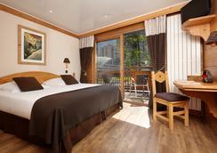 Hôtel de l'Arve - Chamonix - Bedroom