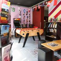 Le Montclair Hostel Game Room