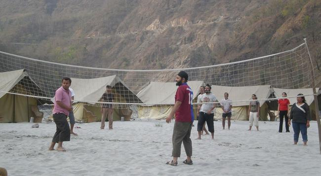 Camp Gold Coast - Rishikesh - Beach