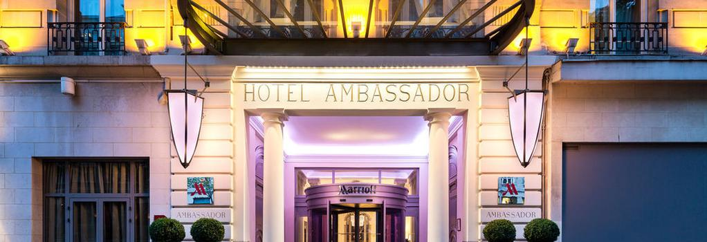Paris Marriott Opera Ambassador Hotel - Paris - Building
