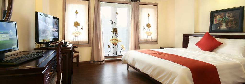 Charming 2 Hotel - Hanoi - Bedroom
