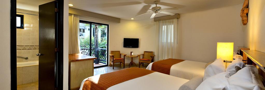 The Reef Playacar Beach Resort - Playa del Carmen - Bedroom