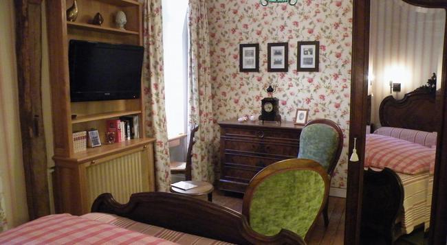 Hôtel Diderot - Chinon - Bedroom