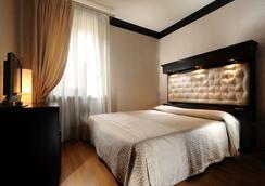 Hotel Abbazia - Venice - Bedroom