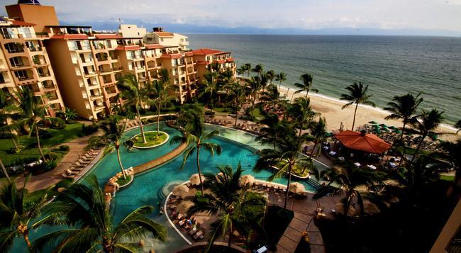 Villa Del Palmar Flamingos Beach Resort And Spa - Nuevo Vallarta - Building