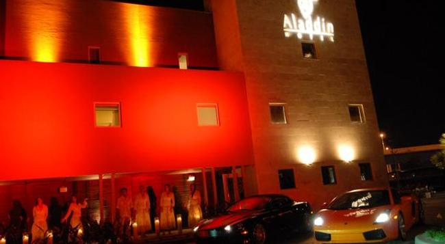 Aladdin Hotel - Couples Only - Miami Springs - Building