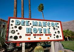 Del Marcos Hotel - Palm Springs - Outdoor view