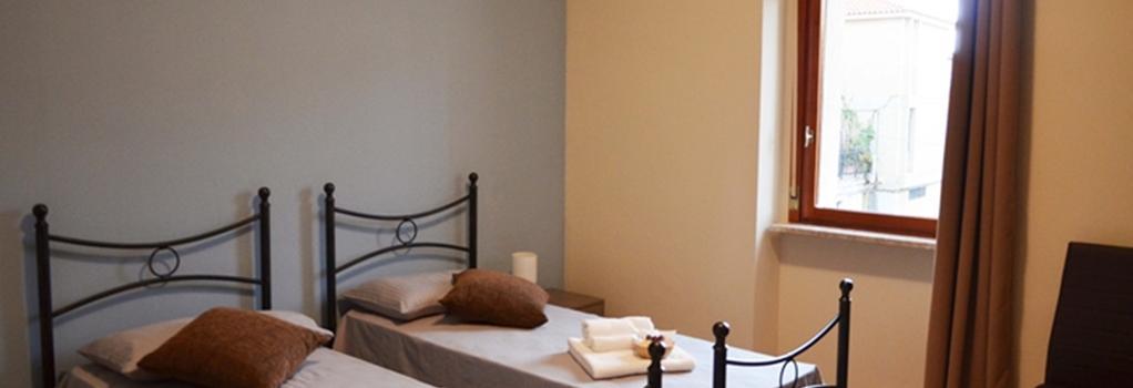 B&B Il Terrazzo di Archimede - Siracusa - Bedroom