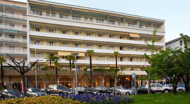 H+ La Palma Hotel & Spa Locarno - Locarno - Building