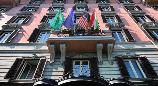 Mecenate Palace Hotel - Rome - Building