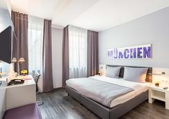 Rilano 24/7 Hotel München City - Munich - Bedroom