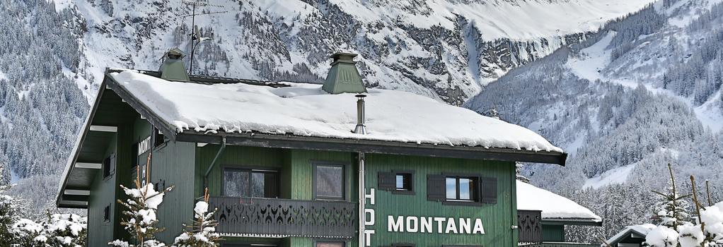 Hotel Montana - Chamonix - Building