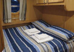 Houseboat Hotels - Hotel boat - Sheffield - Bedroom