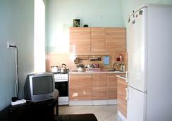 Коt Matroskinn Hostel - Saint Petersburg - Kitchen