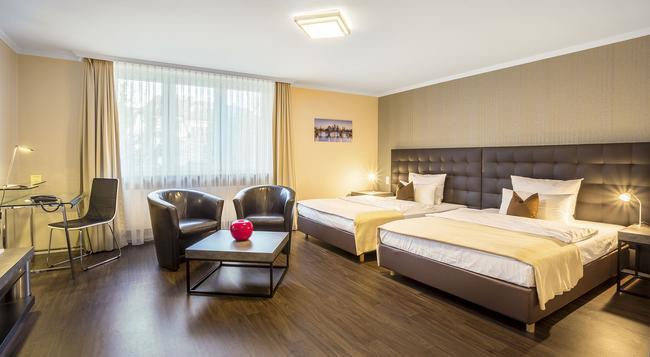 Hotel An Der Messe - Frankfurt am Main - Bedroom