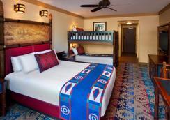 Disney's Wilderness Lodge - Lake Buena Vista - Bedroom