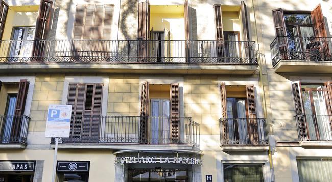 Arc La Rambla - Barcelona - Building