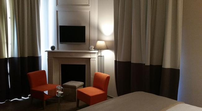 Hôtel Château Lacan - Brive-la-Gaillarde - Bedroom