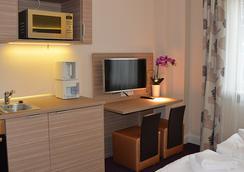 Appartementhotel Hamburg - Hamburg - Living room