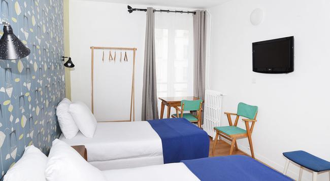 Zazie Hôtel - Paris - Bedroom