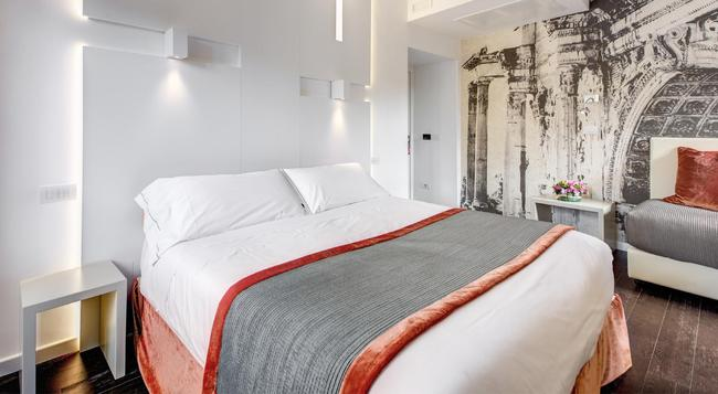 Hotel Abruzzi - Rome - Bedroom