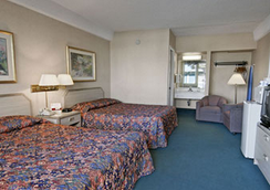 Travelodge San Francisco Airport North - South San Francisco - Bedroom