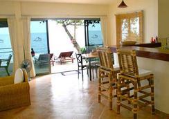 Seaview Paradise Beach & Mountain Villas - Ko Samui - Living room
