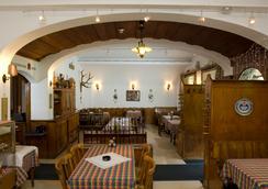 Swiss Lodge Hotel Bernerhof Wengen - Lauterbrunnen - Restaurant