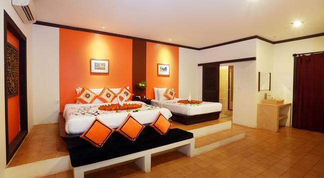 Residence Indochine D'angkor - Siem Reap - Bedroom