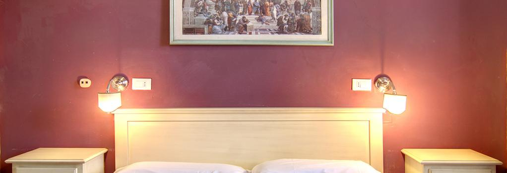 Hotel Genzianella - Florence - Bedroom