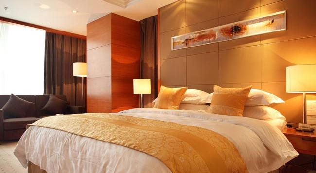 Noble Crown Hotel - Wuxi - Wuxi - Bedroom