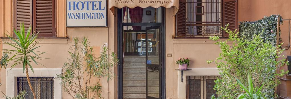 Hotel Washington - Rome - Building