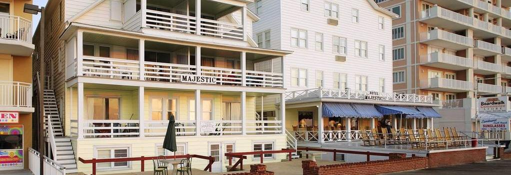 Majestic Hotel & Apartments - Ocean City - Building