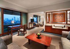 The Sultan Hotel & Residence Jakarta - Jakarta - Bedroom
