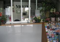 Federal Way Motel - Federal Way - Front desk