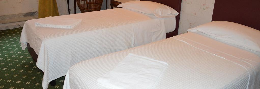 Hotel Texas - Rome - Bedroom