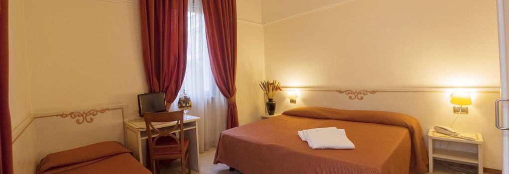 Hotel Villa Rosa - Rome - Bedroom