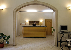 Hotel Embassy - Rome - Front desk