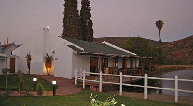 Chandelier Game Lodge - Oudtshoorn - Building