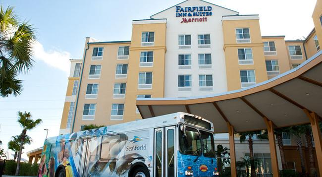 Fairfield Inn and Suites by Marriott Orlando at SeaWorld - Orlando - Building
