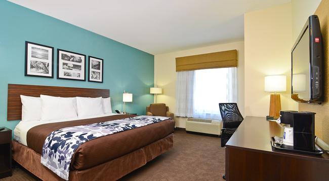 Sleep Inn & Suites Austin North - I-35 - Austin - Bedroom