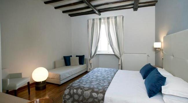 Hotel Charleston - Spoleto - Bedroom