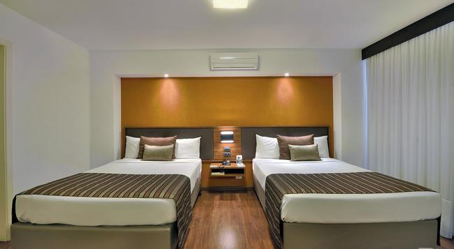 Deville Business Curitiba - Curitiba - Bedroom