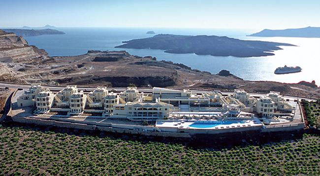 The Majestic Hotel - Thera - Building
