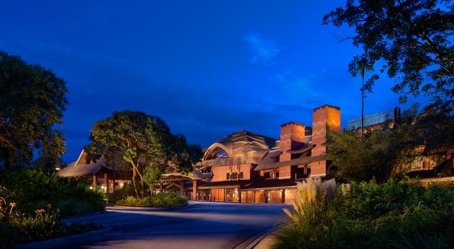 Disney's Animal Kingdom Lodge - Lake Buena Vista - Building