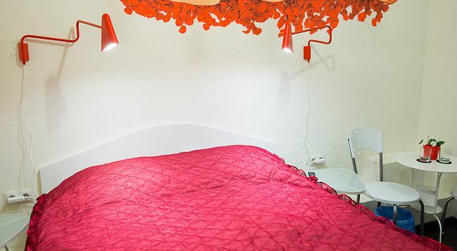 Red Hotel - Novosibirsk - Bedroom