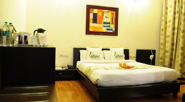 Hotel Pallavi West - Panchkula - Bedroom