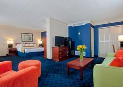 Cavalier Inn At The University of Virginia - Charlottesville - Bedroom