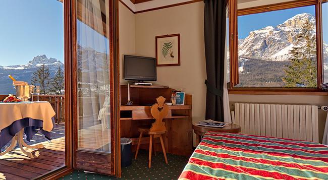 Boutique Hotel Villa Blu Cortina - Cortina d'Ampezzo - Bedroom