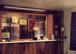 Value Inn Motel Sandusky - Sandusky - Front desk